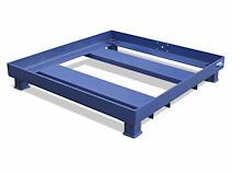 Aanrijdbescherming / Ondertafel 120x120cm Gemoffeld 2855 212x159