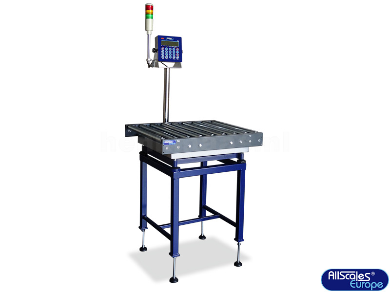 Scale Calibration Weights >> Roller Conveyor Bench Scale - Henk Maas