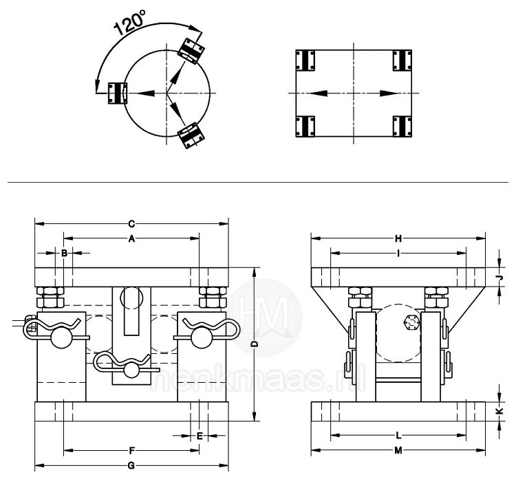 montagekit-hm469-maatschets