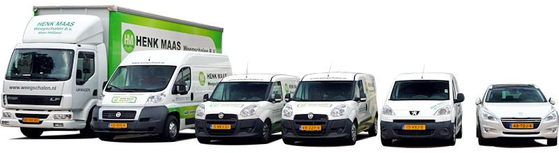 Servicewagens Henk Maas Weegschalen