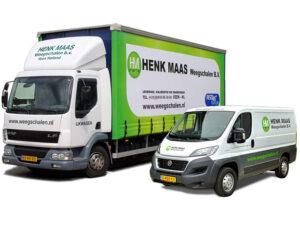 Henk Maas Vrachtauto+servicebus