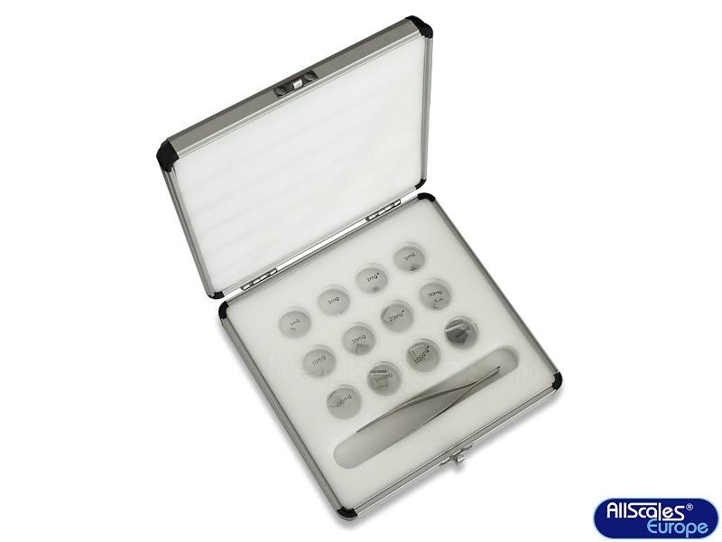 Microgewichtjes In Koffertje 02704
