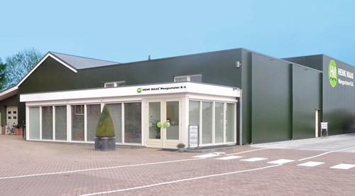 Bedrijfspand Kantoor & Productiehal Henk Maas Tuinstraat Veen