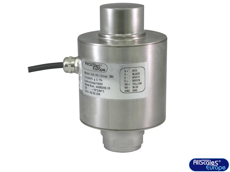 AS-PA-30t compressie load cell